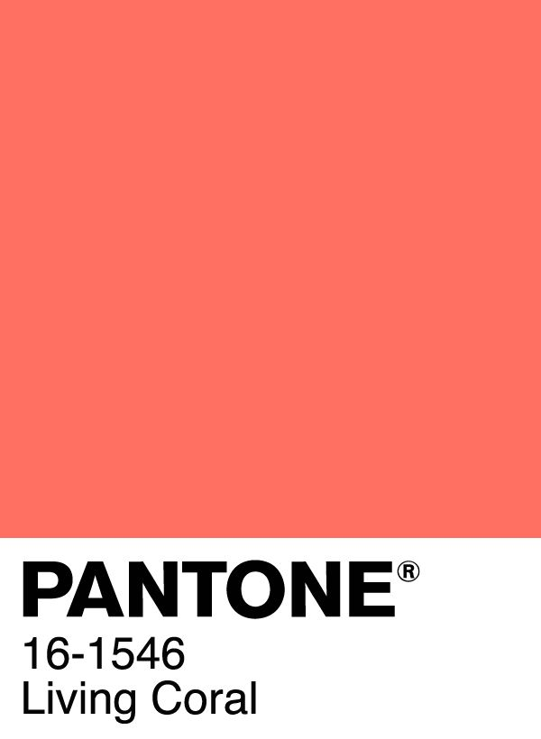 Pantone Color of the Year2019 Swatch